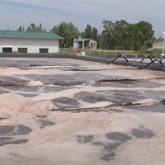 Diariamente, en CEAMSE se tratan 500 m3 de líquidos generados por la degradación de los residuos orgánicos.