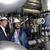 Insaurralde y Bilbao recorrieron el Complejo Ambiental Norte III