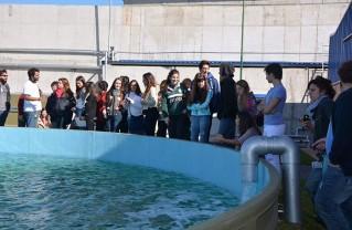 Un grupo de alumnos de la UADE visitó el Complejo Ambiental Norte III. Se mostraron muy interesados y sorprendidos por la tecnología utilizada en el tratamiento de los residuos.